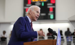 Democratic presidential candidate former Vice President Joe Biden speaks during a campaign rally (AP Photo/Paul Sancya, File)