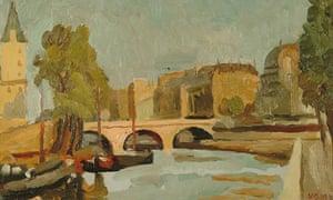 Bell, Vanessa, 1879-1961; A Bridge, Paris