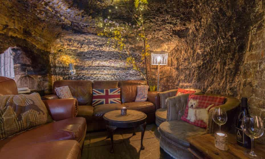 The cave bar