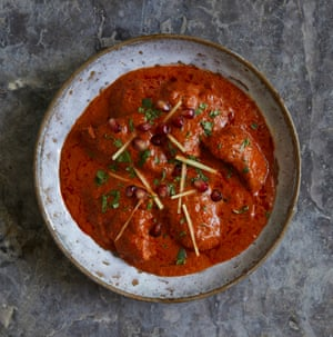 Dishoom's chicken ruby makhani curry.