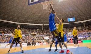 San Pablo Burgos playing Iberostar Tenerife at Coliseum Burgos.