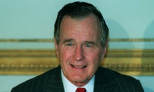 George Bush in 1991.
