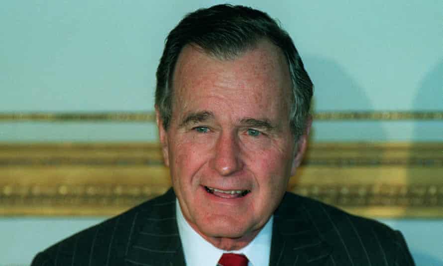 George Bush in 1991.