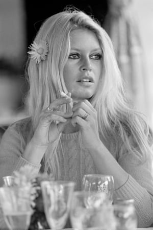 Brigitte Bardot, Deauville, 1968Bardot was in Deauville, Normandy, where she met Sean Connery for the first time, before filming the western Shalako