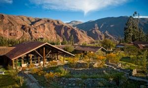 Inkallpa lodge and spa, near Cusco.
