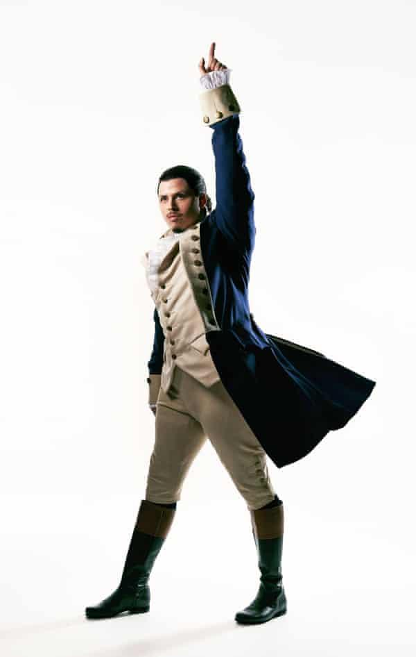Jason Arrow as Alexander Hamilton