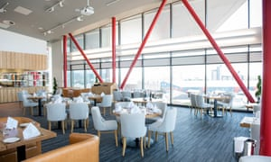 Learning curve: the airy dining room at The Classroom.