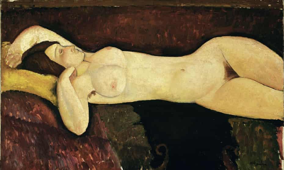 Modern woman … Modigliani's Reclining Nude (c1919).