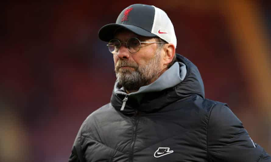 The Liverpool manager, Jürgen Klopp, labelled fans who targeted Billy Gilmour as 'idiots'.