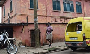 The fake embassy in Accra, Ghana