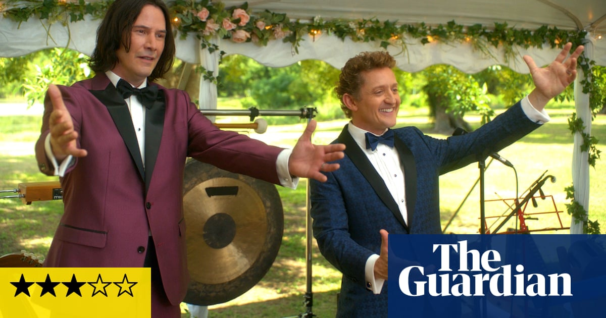 Bill & Ted Face the Music review – sweet adventure into middle age