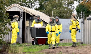 Danish Veterinary and Food Administration and the Danish Emergency Management Agency workers arrive to start killing mink in Gjol, Denmark