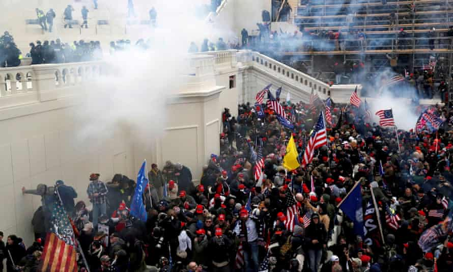 rioters during the capitol attack on 6 january