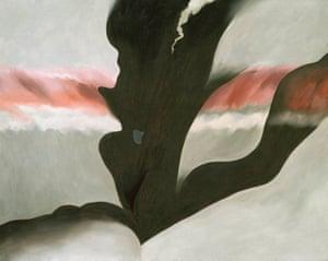 Georgia O'Keeffe's Black Place ll, 1945