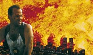Bruce Willis in Die Hard film