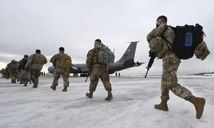 The brutal weather and isolation on Alaska army bases adds to the usual stresses of army life, possibly contributing to alcohol abuse and despair.