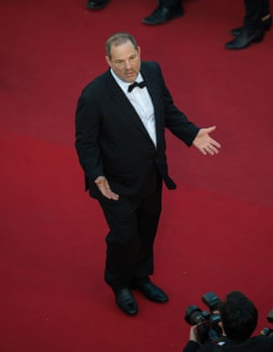 Harvey Weinstein at the Cannes film festival in 2015.