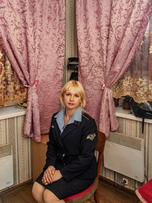 Natallia Volodymirivna Mosoian, 950 km crossing, Blyznyuky - Dubovo distance, Donetsk Railroad