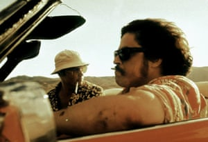 With Johnny Depp in Fear and Loathing in Las Vegas
