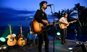 Green Day's Billie Joe Armstrong performs at Cannes Lions