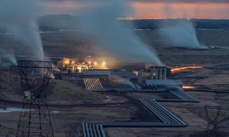 Sustainable energy: inside Iceland's geothermal power plant