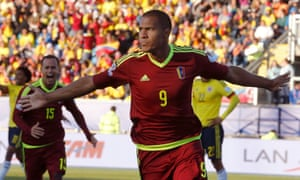 Life in Venezuela is not easy but Salomón Rondón is a hero for the country's national team.