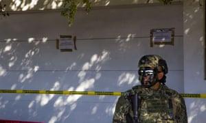 Two dozen Sinaloa drug cartel members arrested at US-Mexico