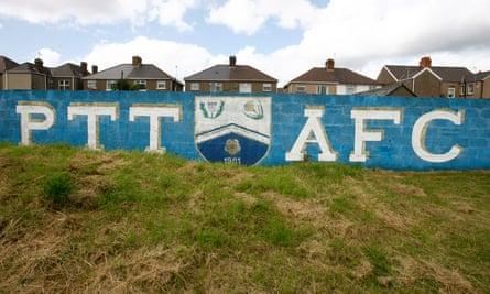 Port Talbot's ground, the GenQuip Stadium.