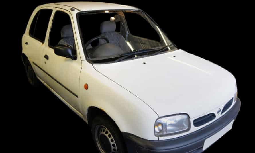 Salman Abedi's white Nissan Micra