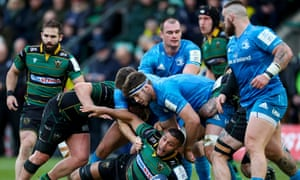 Lewis Ludlam, on the ground, says Northampton can pick themselves up after their heavy defeat by Leinster.