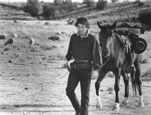 Bob Dylan in Pat Garrett & Billy the Kid (for which he also did the soundtrack) which was released in May 1973 and filmed in Durango, Mexico.