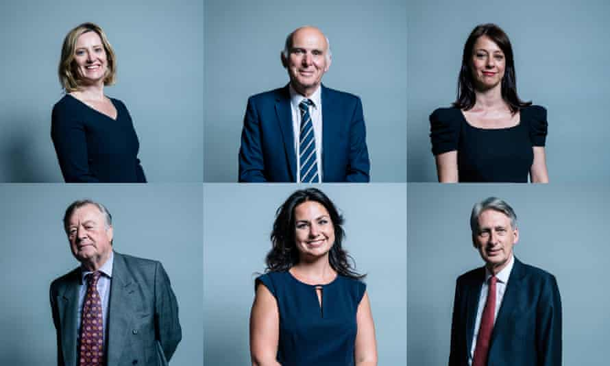 Amber Rudd, Vince Cable, Gloria De Piero, Ken Clarke, Heidi Allen and Phillip Hammond are among MPs standing down at this election