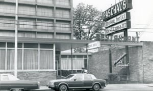 The exterior of Paschal's pictured in 1987.