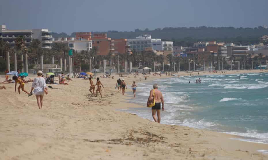 S'Arenal Beach, Palma de Mallorca