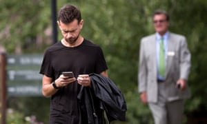 Jack Dorsey, co-founder and chief executive officer of Twitter.