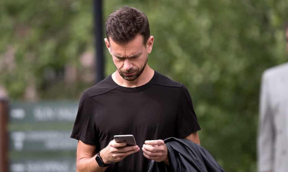 Hackers posted their standard message – that they were testing security - to Jack Dorsey's Vine and Twitter feed