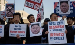 Refugees from North Korea and activists raise the issue of human rights before Kim Jong-un's Hanoi summit with Donald Trump.