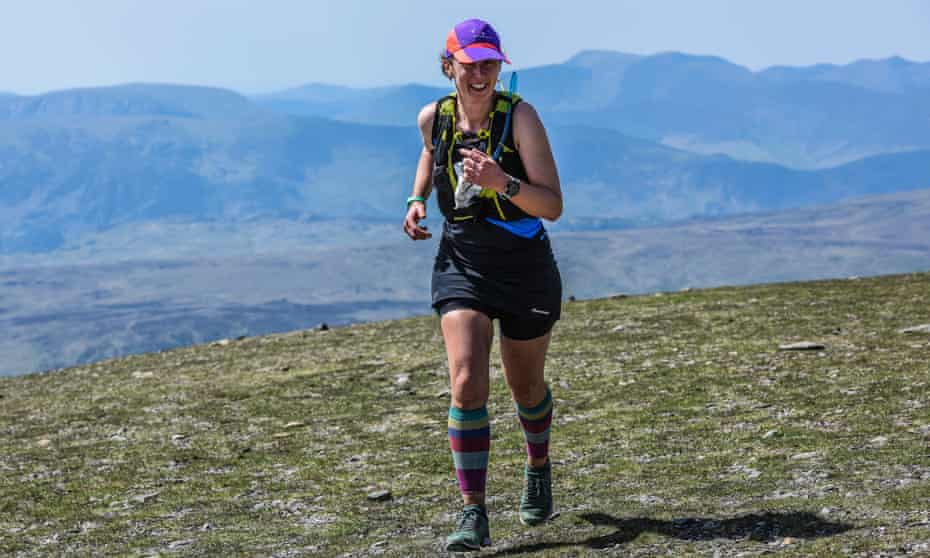 Rose George fell running on Helvellyn in the Lake District.