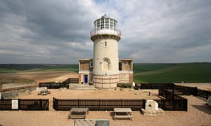 A room with a view: Belle Tout Lighthouse, Sussex.