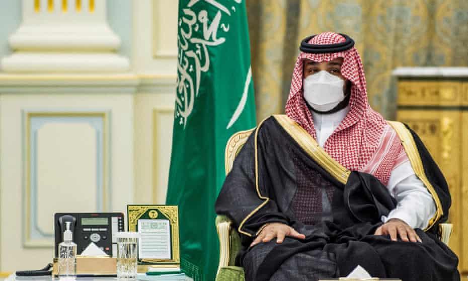 Crown Prince Mohammed of Saudi Arabia.