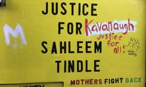 Sahleem Tindle was killed by transit police in January.