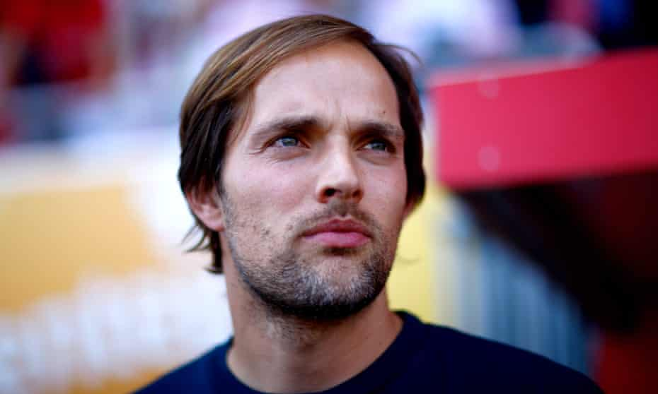 Thomas Tuchel in his early days at Mainz in 2009: 'A footballer has to practise basic techniques again and again'.