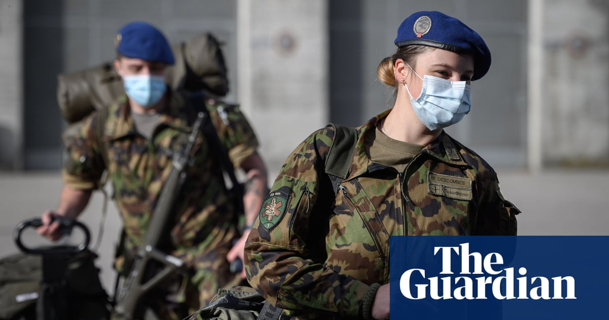 Swiss army to begin issuing female recruits with women's underwear