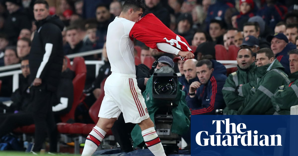 Granit Xhaka turns on jeering Arsenal fans as Crystal Palace hit back to draw