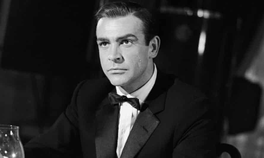 Sean Connery at Pinewood Studios in 1967 filming You Only Live Twice.