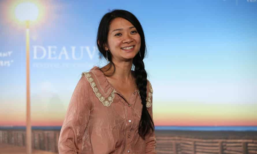 Chloé Zhao, director of Nomadland.