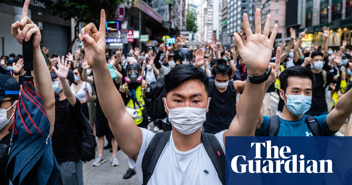 China accuses Australia of 'gross interference' after offer of safe haven for Hong Kong visa holders