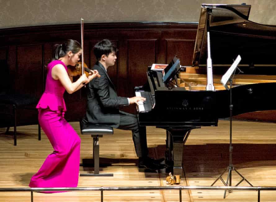 Esther Yoo and Yekwon Sunwoo at Wigmore Hall.