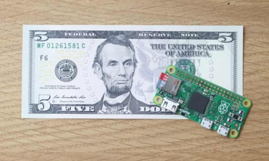 The Raspberry Pi Zero – and how much it costs to buy.