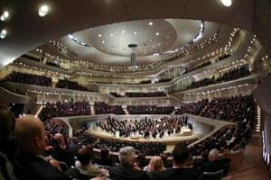 The Elbphilharmonie's opening concert.